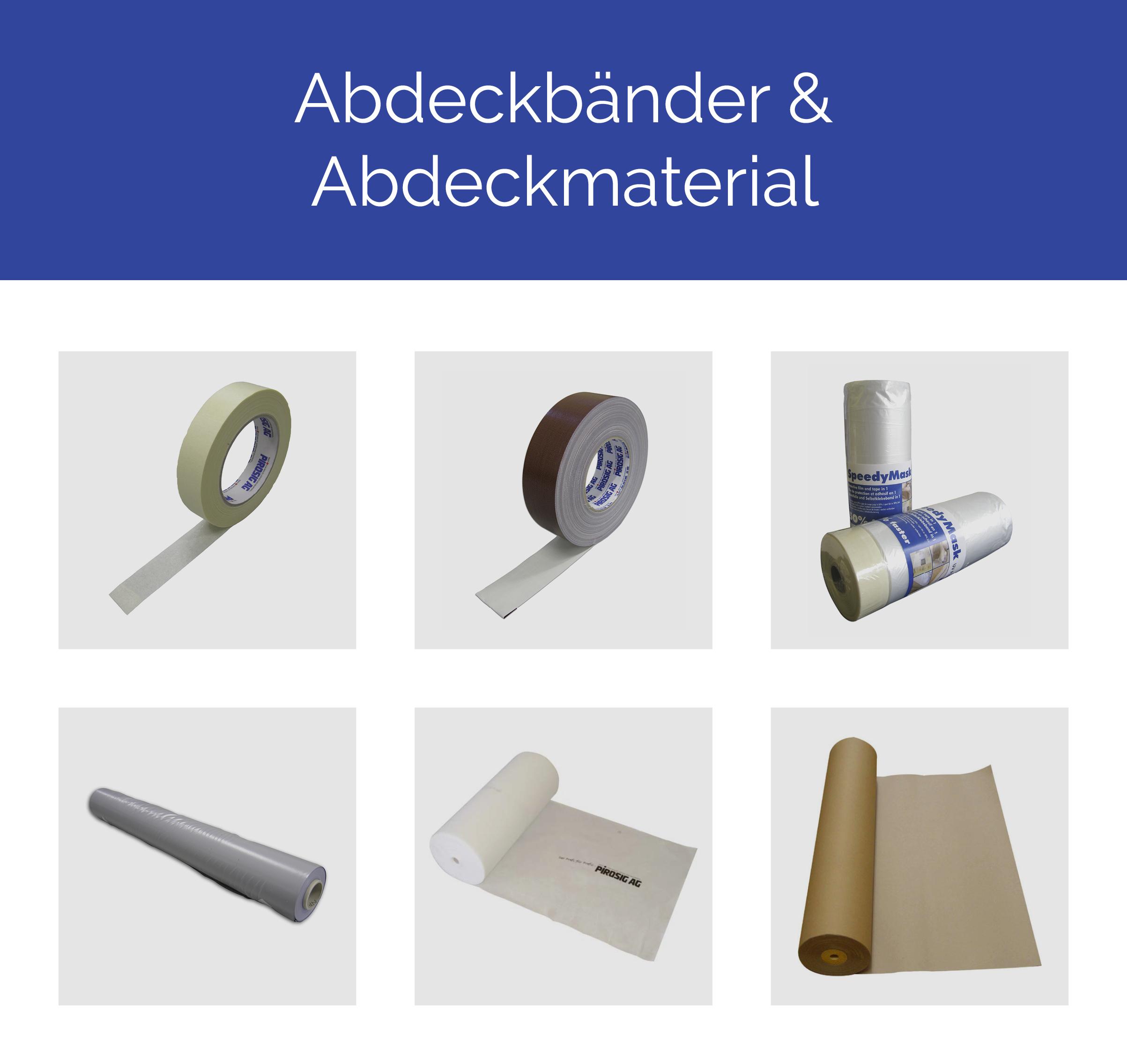 Abdeckbänder & Abdeckmaterial