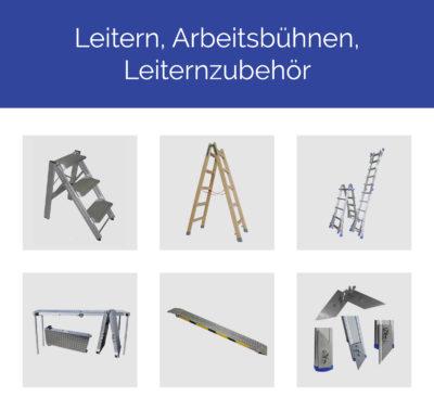 Leitern, Arbeitsbühnen, Leiternzubehör