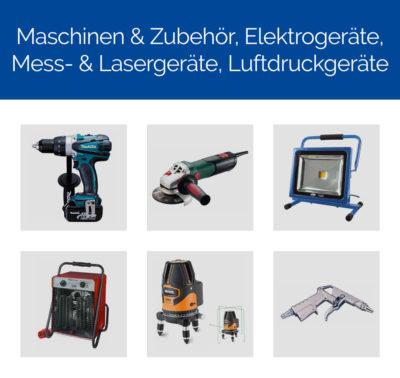 Maschinen & Zubehör, Elektrogeräte, Mess- & Lasergeräte, Luftdruckgeräte