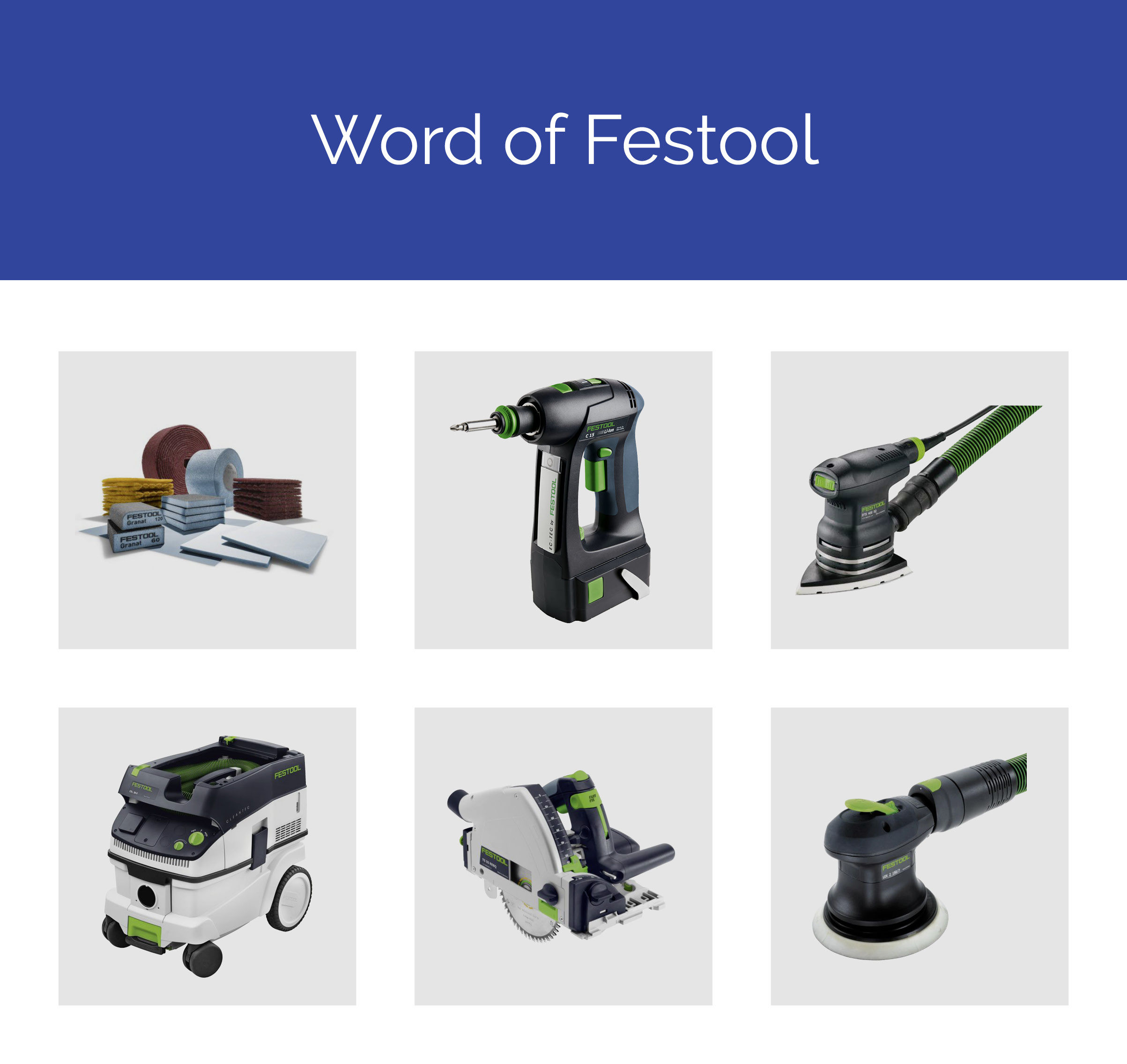 World of Festool